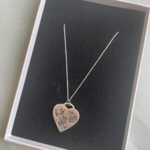 Heart Multiple Print Necklace
